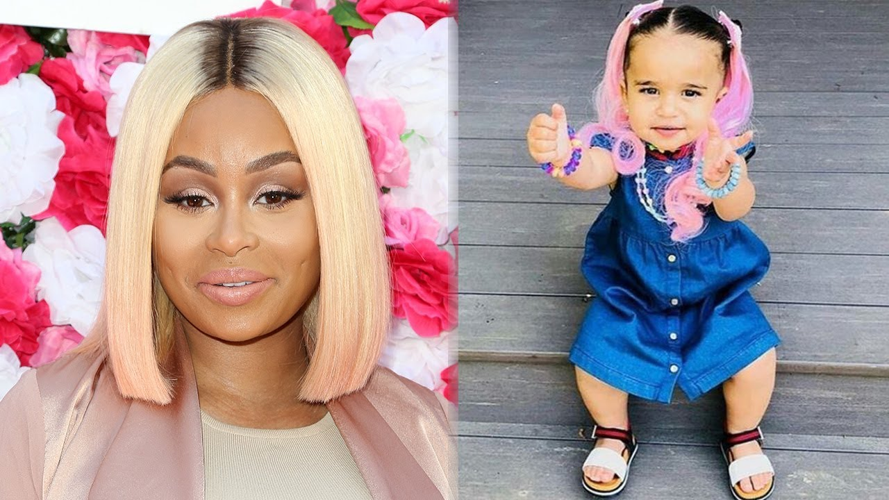 Blac Chyna Criticized For Doing This To Dream Kardashians Hair