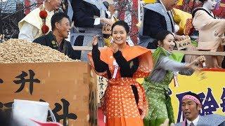 NHK連続テレビ小説『わろてんか』のヒロイン・北村てん役の葵わかな(...