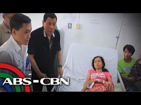 Bandila: Duterte, dumalaw sa mga biktima ng trahedya sa Mindoro