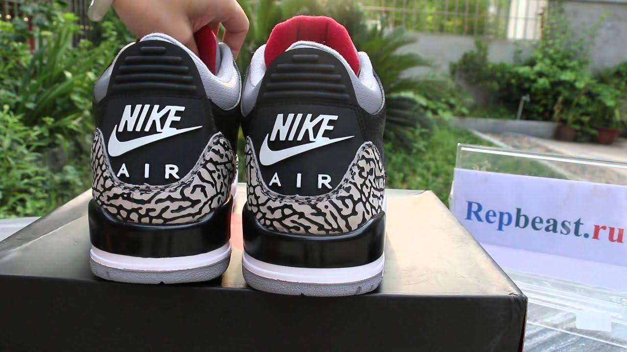 """Air Jordan 3 88 """"Black Cement"""" - YouTube c979ab17a"""