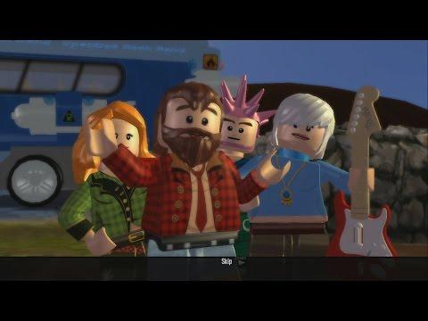 LEGO Rock Band - Boys Like Girls - Thunder (LEGO Avatars version)