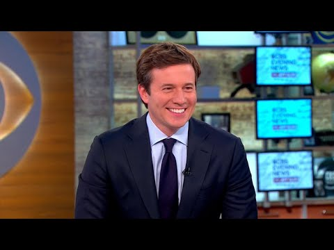 "Jeff Glor on debut as ""CBS Evening News"" anchor"