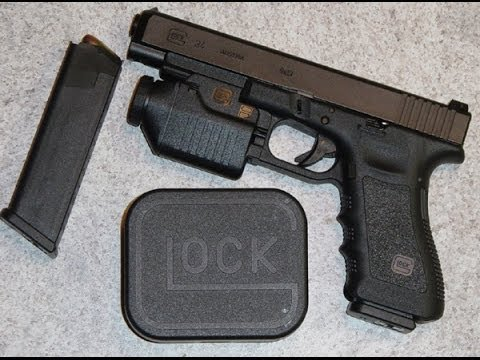 GLOCK review ( tactical light)