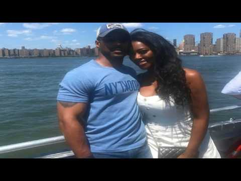 Kenya Moore selfie with Marc Daly! Shows husband off to the world FINALLY! #RHOA Season 10 star news