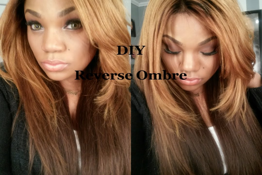 Reverse Ombre Tutorial Youtube
