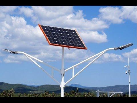 Soluciones de alumbrado público Solar Led