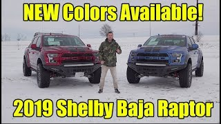 2019 Shelby Baja Raptor - NEW Ford Colors! Walkaround & How to Buy