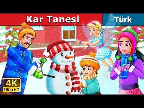 Kar Tanesi |  Snowflake Story | Masal Dinle | Türkçe Peri Masallar