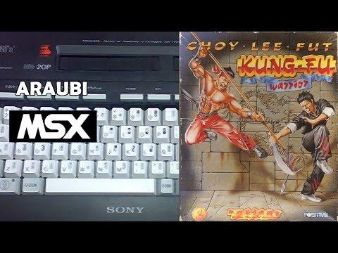 Choy Lee Fut Kung Fu Warrior (Positive, 1990) MSX [147] Walkthrough Comentado