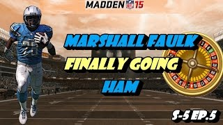 Madden 15 Ultimate Team Roulette S-5 Ep.5 - Marshall Faulk Finally Going Ham
