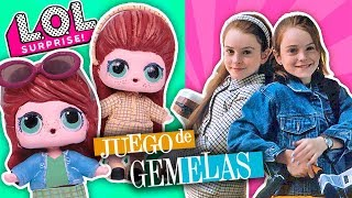 JUEGO de GEMELAS Hallie Parker & Annie James 👯♀️ Muñecas LOL Sorpresa -Transformaciones Fantásticas