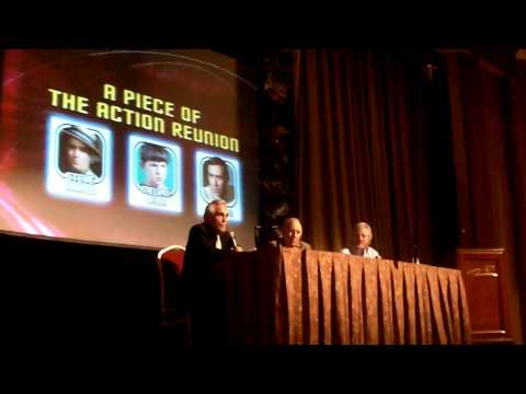 piece of the action panel star trek convention.  Steve Marlo MOV