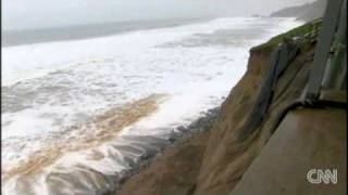 Residents in Pacifica, California, are told to evacuate after part ...