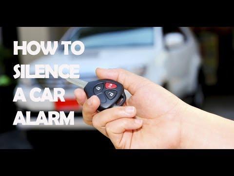 How To Silence A Car Alarm - YouTube