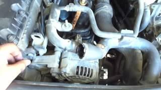 Changement du l'eau de refroidissement Audi,VW - تغيير ماء تبريد محرك السيارة