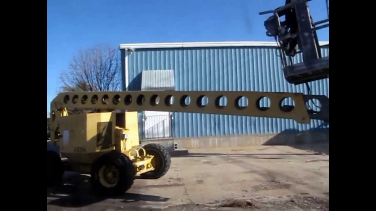 maxresdefault 1993 grove amz 66 rough terrain boom lift for sale sold at  at alyssarenee.co