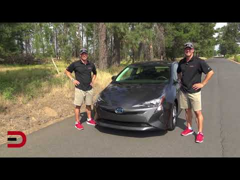 Here's the 2018 Toyota Prius on Everyman Driver