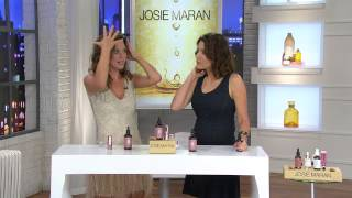 Josie Maran 4 oz. Deluxe Bronzing Argan Oil and Color Stick with Sandra Bennett
