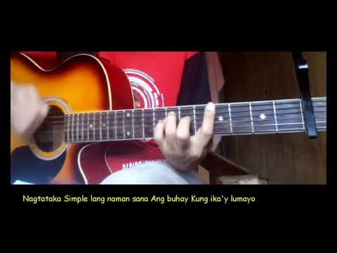 Akap Guitar chords