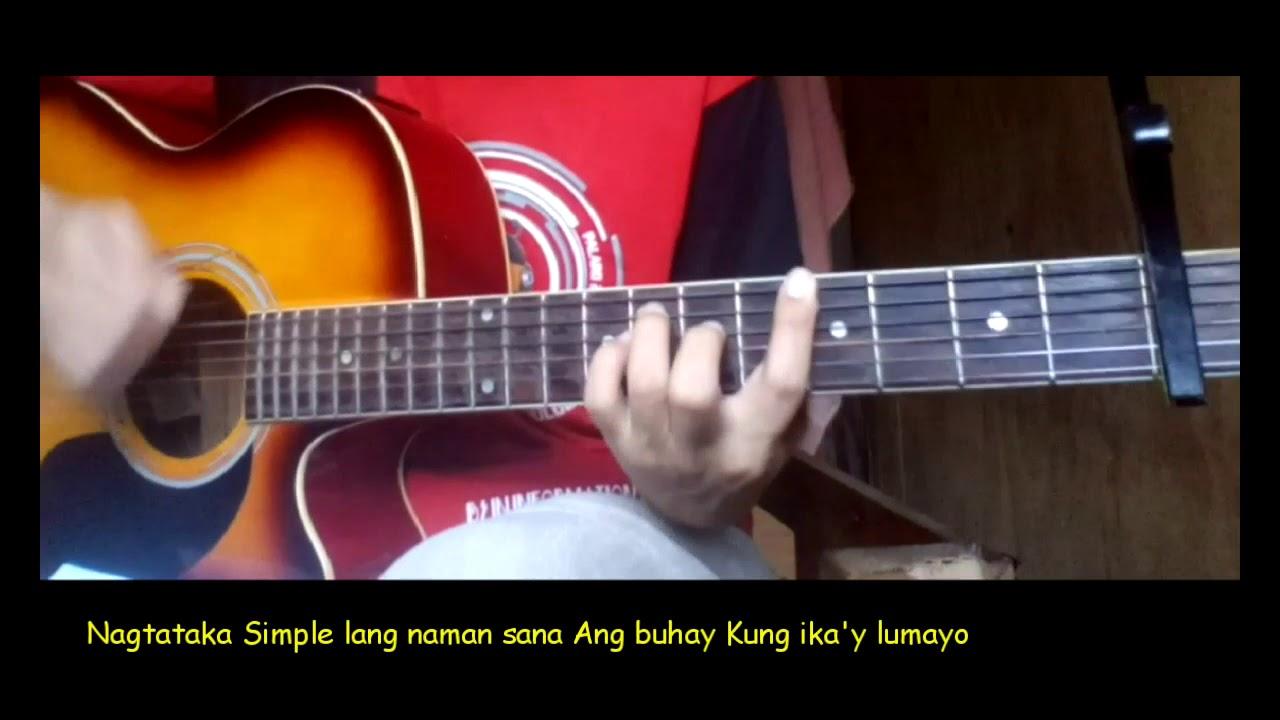 Akap Guitar Chords Youtube