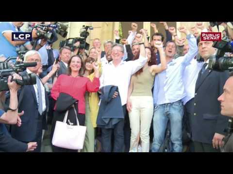 Scéance photo pour le groupe des députés France Insoumise