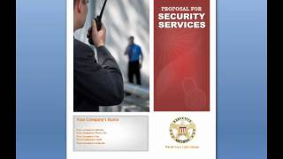 Security Services Proposal - for Security Business - Security Company Proposal