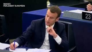 Macron humilié par Philippe Lamberts député européen!!