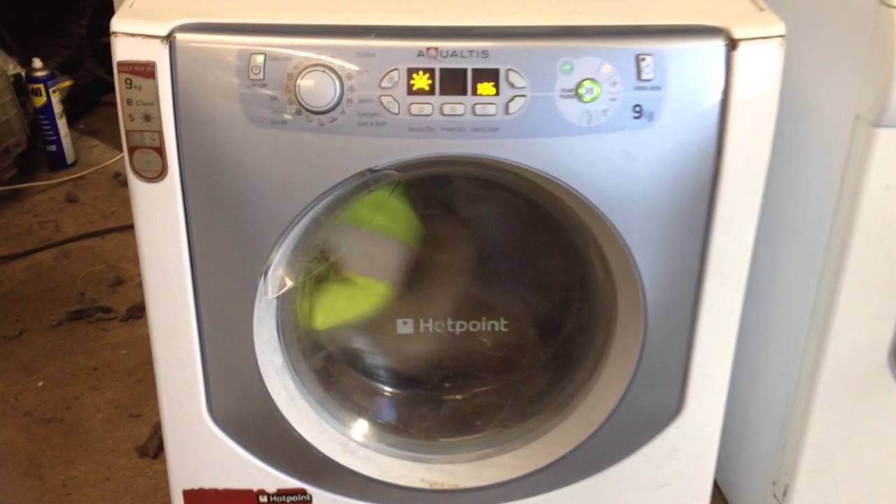 hotpoint aqualtis dryer drying youtube. Black Bedroom Furniture Sets. Home Design Ideas
