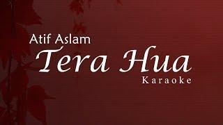 Atif Aslam: Tera Hua Karaoke + Lyrics   Loveratri   (Semi Original Karaoke)