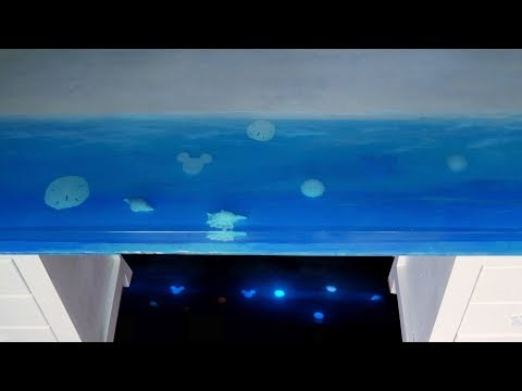 How to Make an Epoxy Resin Ocean Table (Step-By-Step)