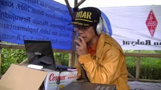 Gambaran Komunikasi Amatir Radio pada Special Call oleh YB1AR