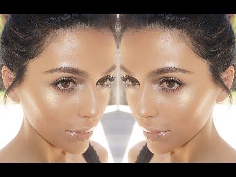 Summer Bronze Glow Makeup | Natural Makeup...