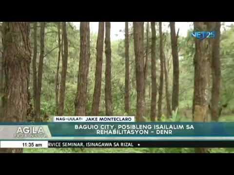 Baguio City, pinag-aaralan ng isailalim sa rehabilitasyon - DENR