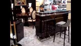 bar Comptoir art déco Paris,Dubai,Canapé art déco Paris,Mobilier de Luxe Paris,
