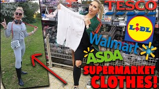 I wore SUPERMARKET clothes for a WEEK!!! *shocking!!*