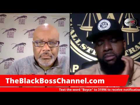Dr Boyce speaks with the Wall Street Trapper:  Black Men are taking over investing