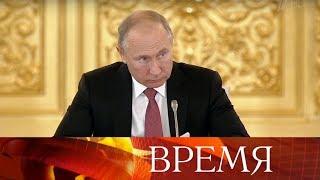 Владимир Путин обсудил научный прогресс с президентским советом по науке и образованию.