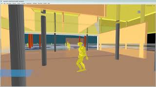 InfraWorks Mobility Simulation: Navigating the Workspace | Designing for COVID-19: Sample Studies