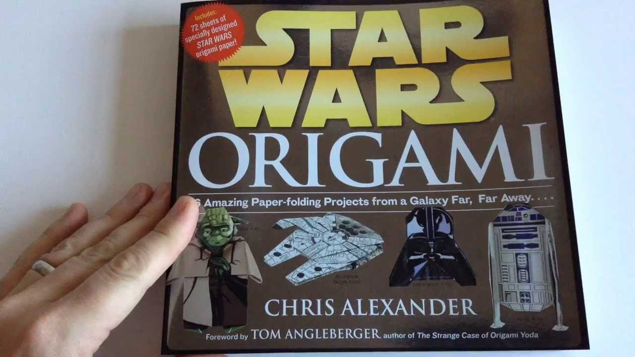 Image result for chris alexander star wars origami