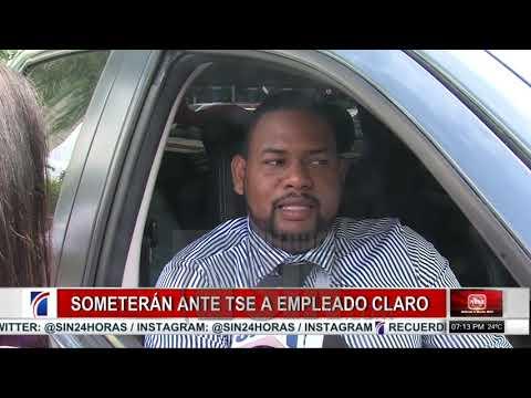 Someterán a empleado de Claro ante el TSE acusado de crímenes y delitos electorales