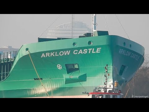 GREAT FUN TO FOLLOW 'ARKLOW CASTLE' FROM BRID(G)E TO BRIDGE - #579NL