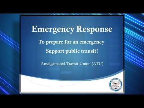 Advocacy: Why Transit Matters - Emergency Response