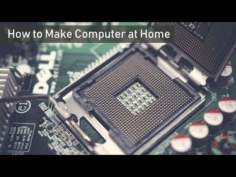 How to Make Computer at Home ▶ How to Make CPU at Home