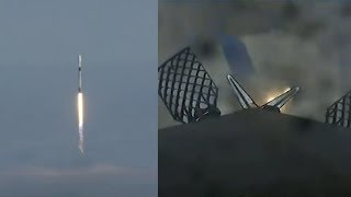 SpaceX RCM mission: Falcon 9 launch and landing