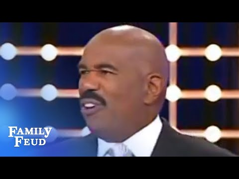 Steve Harvey is the answer!   Family Feud