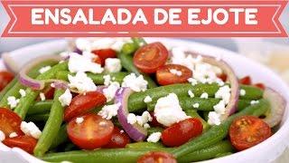 Ensalada de Ejote - Fácil, Deliciosa y Saludable - Mi Cocina Rápida