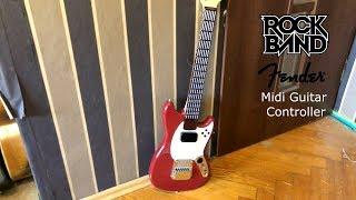 The Cheapest MIDI Guitar !