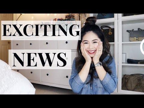 分享好消息! | EXCITING NEWS TO SHARE!