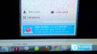 Skype for Bada - (Java) Demo on Samsung Wave II 8530