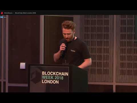 Radix DLT - Piers Ridyard:  London Blockchain Week 2018